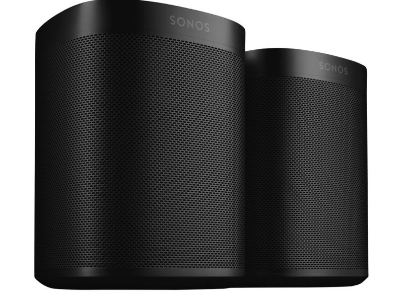 Sonos Play 1 2-Room Streaming Music Starter Set Max Home Theater 3